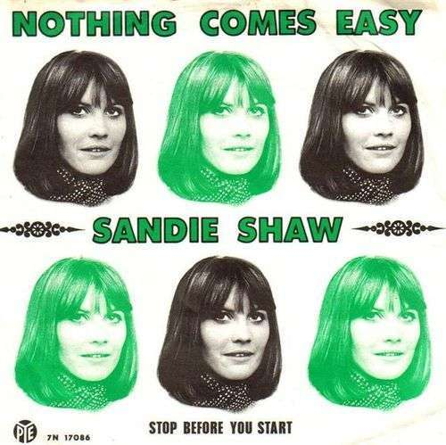 Coverafbeelding Nothing Comes Easy - Sandie Shaw