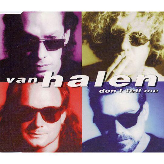 Coverafbeelding Don't Tell Me - Van Halen