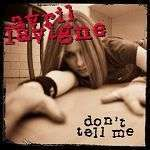 Coverafbeelding Don't Tell Me - Avril Lavigne