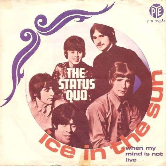 Coverafbeelding Ice In The Sun - The Status Quo