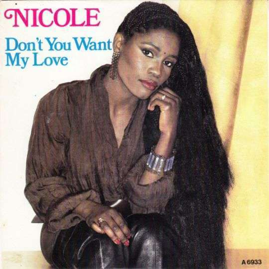 Coverafbeelding Nicole// Nicole McCloud - Don't You Want My Love