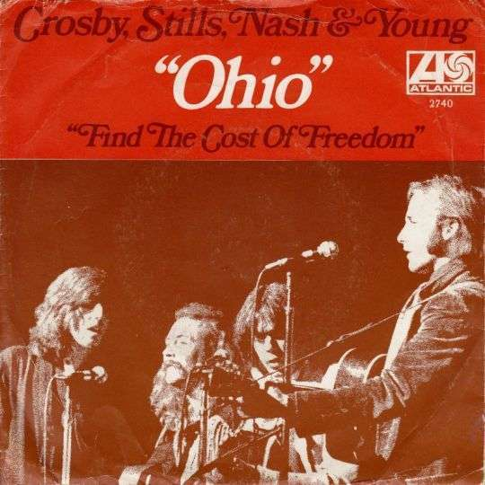 Coverafbeelding Ohio - Crosby, Stills, Nash & Young