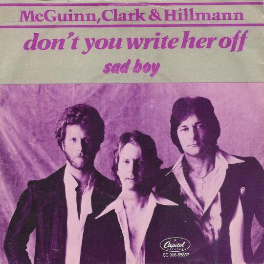 Coverafbeelding Don't You Write Her Off - Mcguinn, Clark & Hillmann