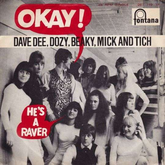 Coverafbeelding Dave Dee, Dozy, Beaky, Mick and Tich - Okay!