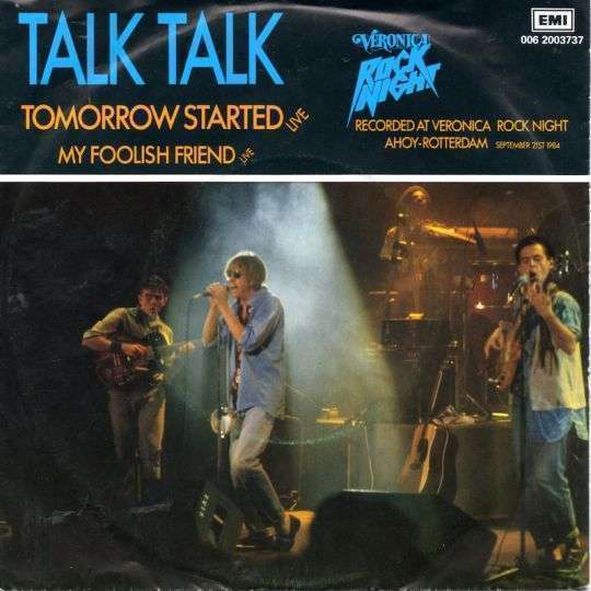 Coverafbeelding Tomorrow Started - Live - Talk Talk