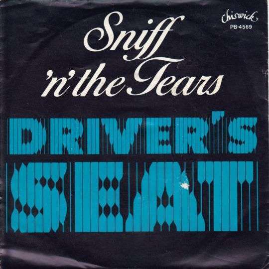 Coverafbeelding Driver's Seat - Sniff 'n' The Tears