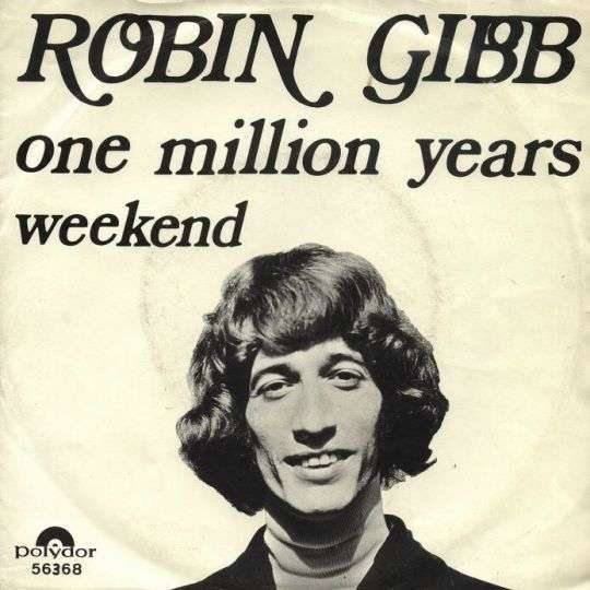 Coverafbeelding Robin Gibb - One Million Years