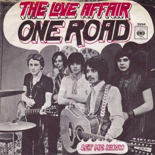 Coverafbeelding The Love Affair - One Road