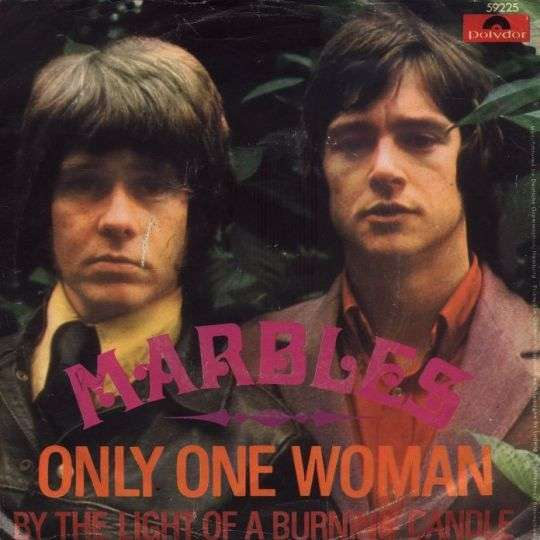 Coverafbeelding Only One Woman - Marbles