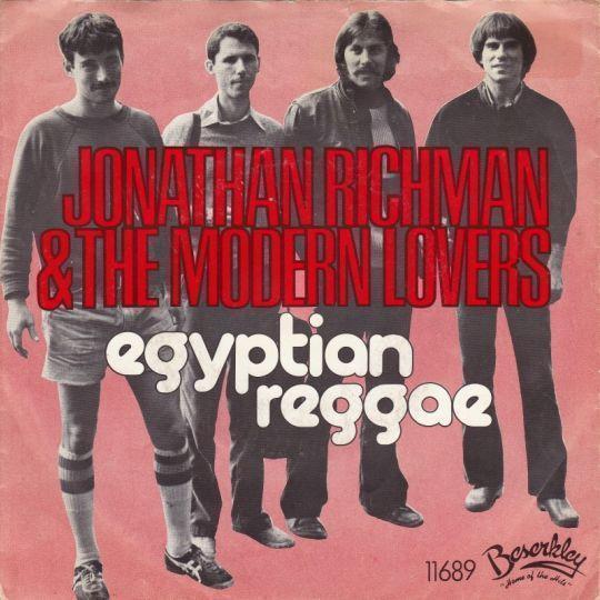 Coverafbeelding Jonathan Richman & The Modern Lovers - Egyptian Reggae