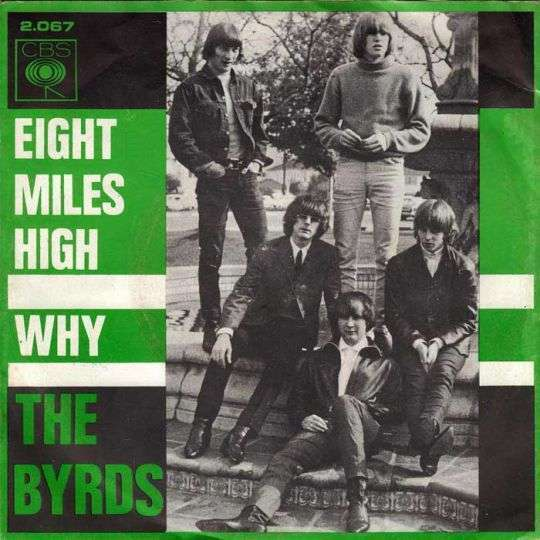 Coverafbeelding Eight Miles High - The Byrds
