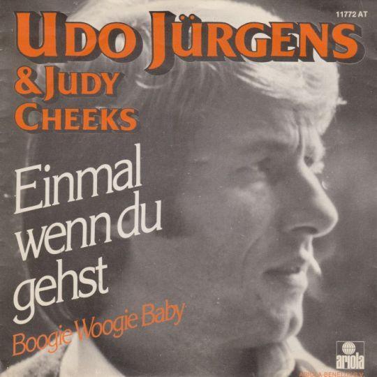 Coverafbeelding Einmal Wenn Du Gehst - Udo Jürgens & Judy Cheeks