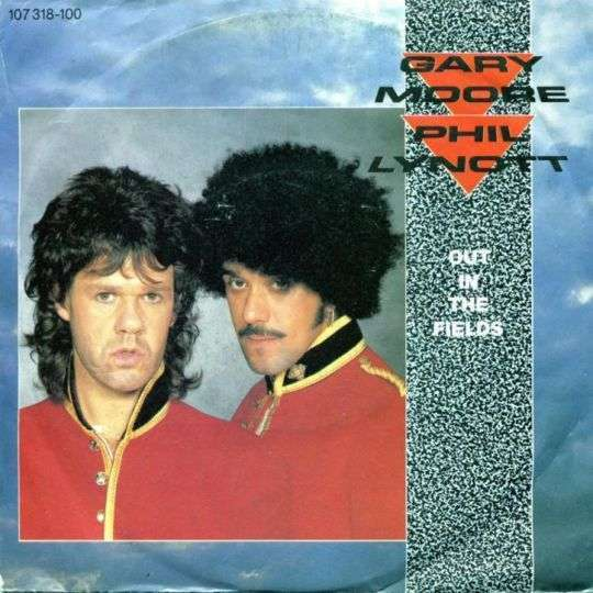Coverafbeelding Out In The Fields - Gary Moore & Phil Lynott