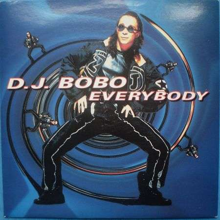 Coverafbeelding Everybody - D.j. Bobo
