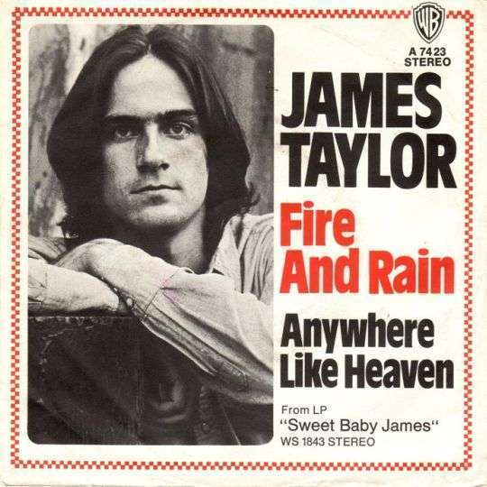 Coverafbeelding Fire And Rain - James Taylor