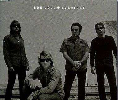 Coverafbeelding Everyday - Bon Jovi
