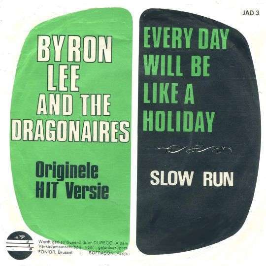 Coverafbeelding Every Day Will Be Like A Holiday - Byron Lee And The Dragonaires