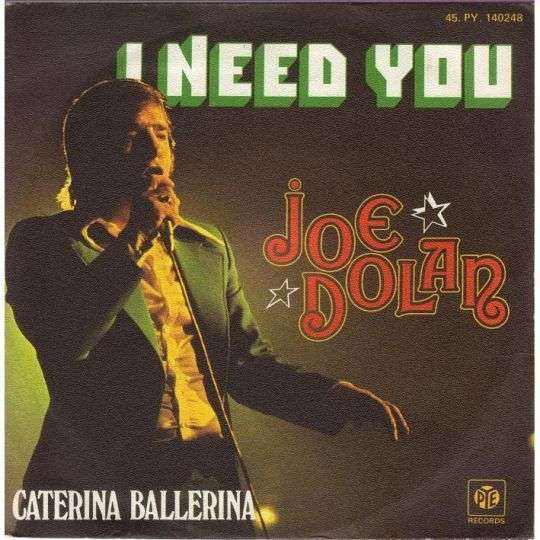 Coverafbeelding I Need You - Joe Dolan