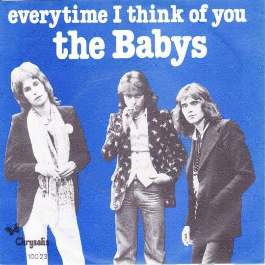 Coverafbeelding The Babys - Everytime I Think Of You