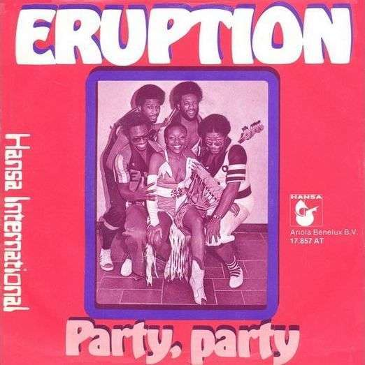 Coverafbeelding Party, Party - Eruption