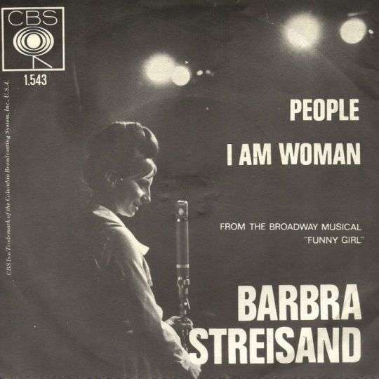 Coverafbeelding People - Barbra Streisand