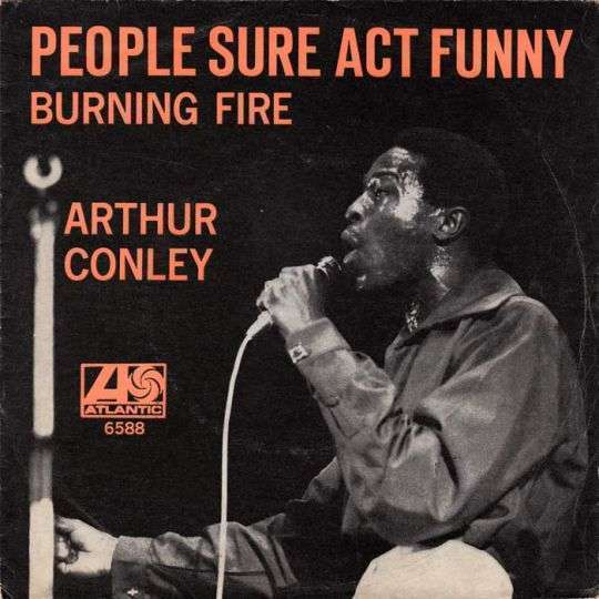 Coverafbeelding People Sure Act Funny - Arthur Conley