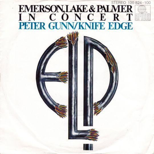 Coverafbeelding ELP : Emerson, Lake & Palmer - Peter Gunn