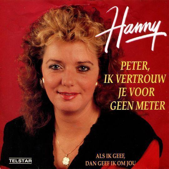 Coverafbeelding Peter, Ik Vertrouw Je Voor Geen Meter - Hanny