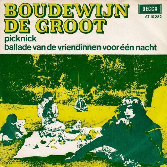 Coverafbeelding Picknick - Boudewijn De Groot