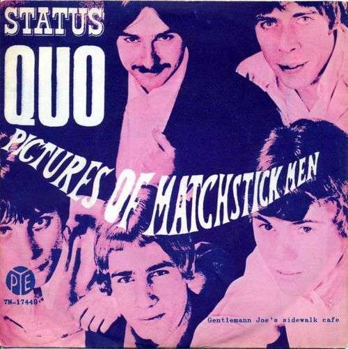 Coverafbeelding Pictures Of Matchstick Men - Status Quo