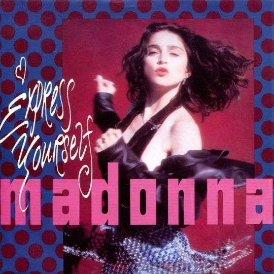 Coverafbeelding Express Yourself - Madonna