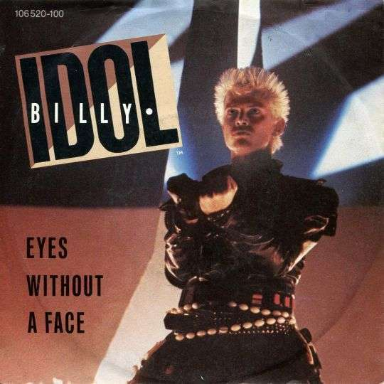 Coverafbeelding Eyes Without A Face - Billy Idol