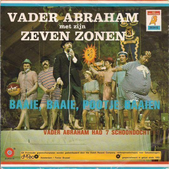 Coverafbeelding Baaie, Baaie, Pootje Baaien - Vader Abraham Met Zijn Zeven Zonen