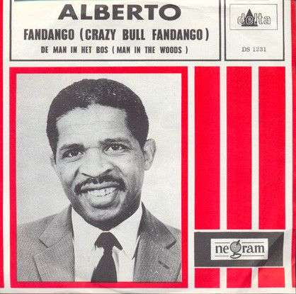 Coverafbeelding Andy Fisher / Alberto ((1967)) - Fandango - The Crazy Bull / Fandango (Crazy Bull Fa