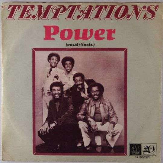 Coverafbeelding Power - The Temptations