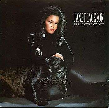 Coverafbeelding Black Cat - Janet Jackson