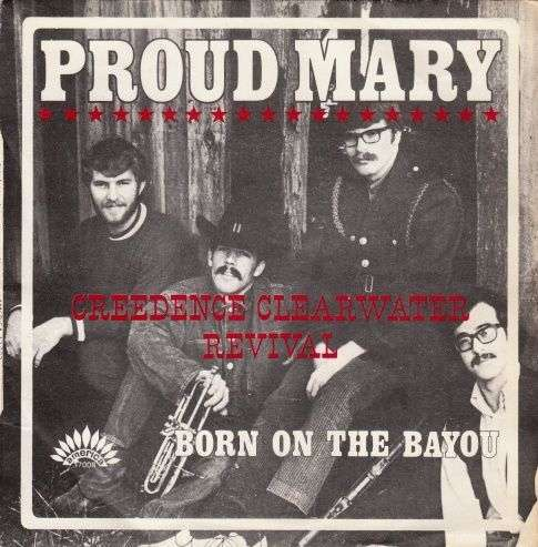 Coverafbeelding Proud Mary - Creedence Clearwater Revival