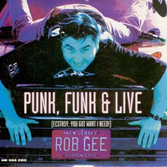 Coverafbeelding Rob Gee - Punk, Funk & Live (Ecstasy, You Got What I Need!)