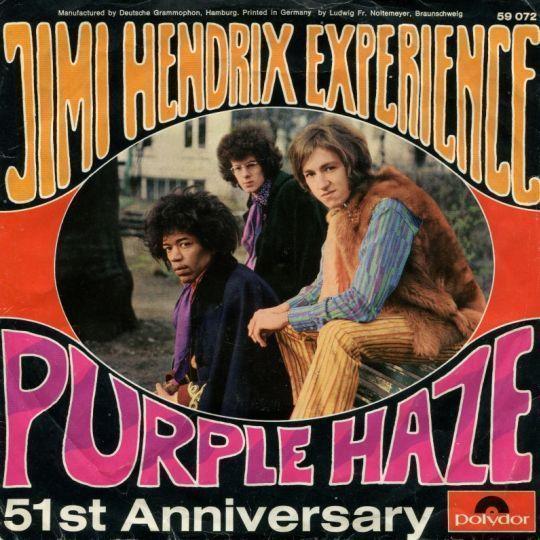 Coverafbeelding Purple Haze - Jimi Hendrix Experience
