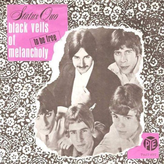 Coverafbeelding Black Veils Of Melancholy - Status Quo