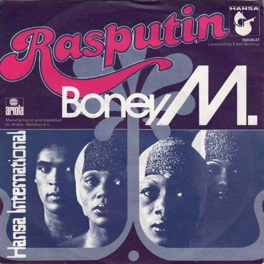Coverafbeelding Rasputin/ Painter Man - Boney M.