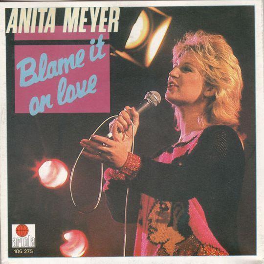 Coverafbeelding Anita Meyer - Blame It On Love
