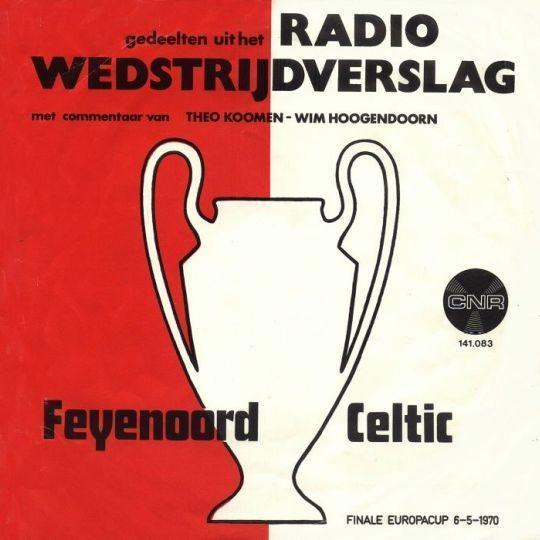 Coverafbeelding Theo Koomen & Wim Hoogendoorn - Gedeelten Uit Het Radio Wedstrijdverslag Feyenoord C