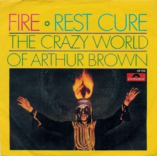 Coverafbeelding The Crazy World Of Arthur Brown - Fire
