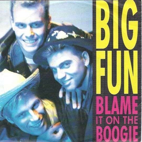 Coverafbeelding Big Fun - Blame It On The Boogie