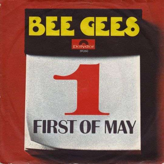 Coverafbeelding First Of May - Bee Gees