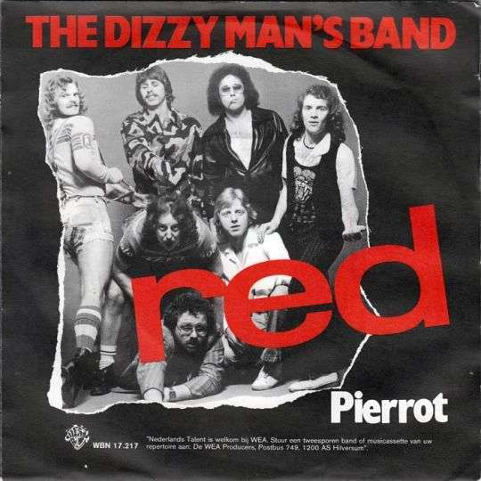 Coverafbeelding The Dizzy Man's Band - Red