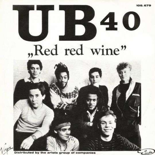 Coverafbeelding UB40 - Red Red Wine