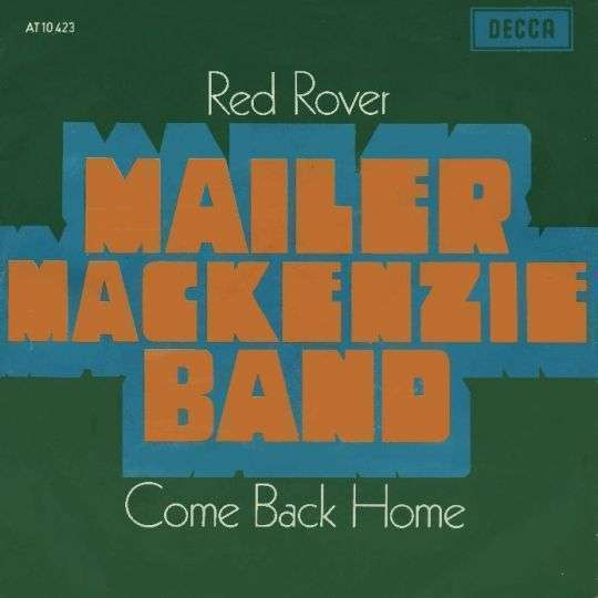 Coverafbeelding Red Rover - Mailer Mackenzie Band