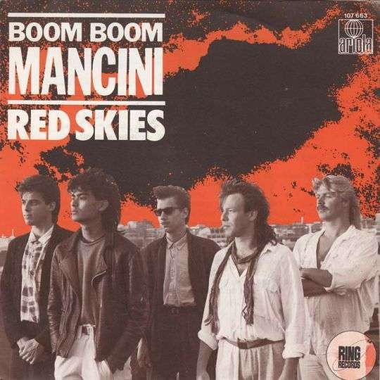 Coverafbeelding Boom Boom Mancini - Red Skies